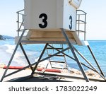 A Lifeguard Stand On The Edge...