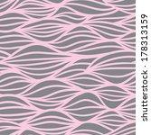 Wave Pattern. Seamless Texture. ...