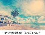 filtered image   house on the... | Shutterstock . vector #178317374