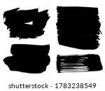 set of paint splashes. vector...   Shutterstock .eps vector #1783238549