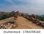 Delhi Tughlakabad Fort Ruins....