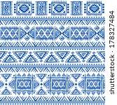 tribal vintage ethnic seamless... | Shutterstock .eps vector #178327484