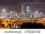 Skyline Of Perth From Kings...