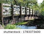 Covered Bridge park in Cedarburg, Wisconsin