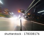 car on the road with motion... | Shutterstock . vector #178338176