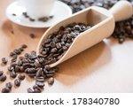 coffee beans | Shutterstock . vector #178340780