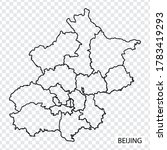 high quality map of beijing is...