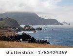 Big Sur Coast Line In...