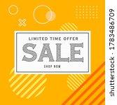 vector illustration of a sale... | Shutterstock .eps vector #1783486709