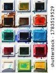 a water colour palette photo   Shutterstock . vector #1783519529