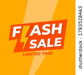 creatuve banner flash sale... | Shutterstock .eps vector #1783528463