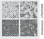 set textures. vector... | Shutterstock .eps vector #178353368