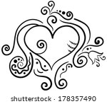 black and white image of... | Shutterstock .eps vector #178357490