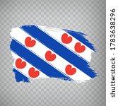 flag of  friesland brush...