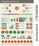 infographics collection vector...   Shutterstock .eps vector #178368086