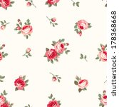 seamless pattern with vintage...   Shutterstock .eps vector #178368668