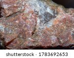 Photograph of a granite surface ...