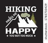 outdoor adventure vintage... | Shutterstock .eps vector #1783703429