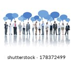 group of business people...   Shutterstock . vector #178372499