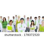 green environmental business... | Shutterstock . vector #178372520