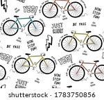 vector seamless pattern with... | Shutterstock .eps vector #1783750856