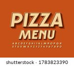 vector cafe template pizza menu.... | Shutterstock .eps vector #1783823390