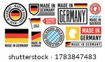 large set of made in germany...   Shutterstock .eps vector #1783847483