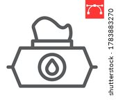 wet wipes line icon  hygiene... | Shutterstock .eps vector #1783883270