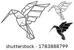 vector monochrome image of...   Shutterstock .eps vector #1783888799