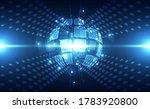 vector abstract futuristic... | Shutterstock .eps vector #1783920800