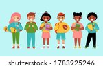back to school concept with... | Shutterstock .eps vector #1783925246