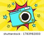 children's photo book in pop...   Shutterstock .eps vector #1783982003