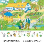 kindergarten. excursion to the... | Shutterstock .eps vector #1783984910