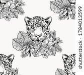 seamless pattern of hand drawn... | Shutterstock .eps vector #1784013599