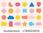 colorful solid and isolated... | Shutterstock .eps vector #1784023010