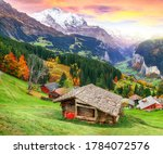 Scenic Autumn View Of...