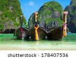 beautiful beach and tropical sea | Shutterstock . vector #178407536