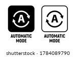 vector automatic mode... | Shutterstock .eps vector #1784089790