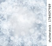 christmas background of blurry...   Shutterstock .eps vector #1784097989