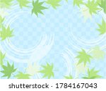 cool maple background... | Shutterstock .eps vector #1784167043