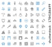 Art Icons Set. Collection Of...