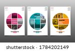 layout design template  cover... | Shutterstock .eps vector #1784202149
