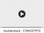video player transparent mockup ... | Shutterstock .eps vector #1784227973