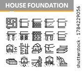 house foundation base... | Shutterstock .eps vector #1784229056