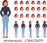 character set for animation.... | Shutterstock .eps vector #1784275070
