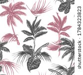 tropical palm trees  jungle... | Shutterstock .eps vector #1784323823
