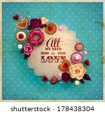 vintage frame for your text... | Shutterstock .eps vector #178438304