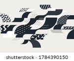 abstract elegant geometric... | Shutterstock .eps vector #1784390150