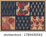 set of seamless backgrounds... | Shutterstock .eps vector #1784430563