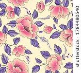 floral seamless pattern....   Shutterstock .eps vector #1784480540